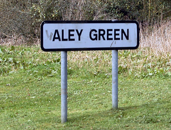 Aley Green sign March 2012