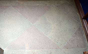 Paving in the chancel May 2017