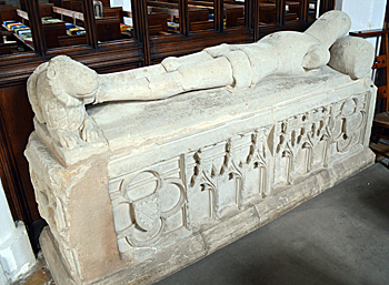 Supposed tomb of Sir William de Tyrynton May 2017