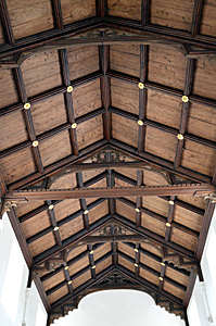 The nave roof May 2017