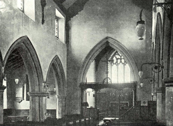 Interior of the church from Victoria County History