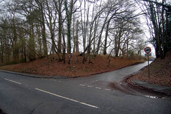 The junction of Aspley Lane and Woburn Road January 2008