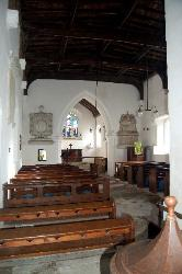 Battlesden Church Interior