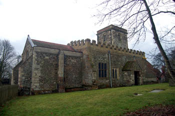 church from the north east January 2008
