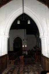 interior looking west January 2008