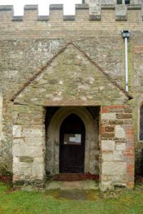 north porch January 2008