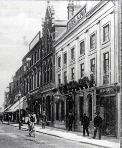 The Lion Hotel about 1900