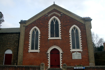 The Methodist Church from the front March 2010