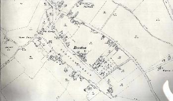 The southern area of Beeston in 1901