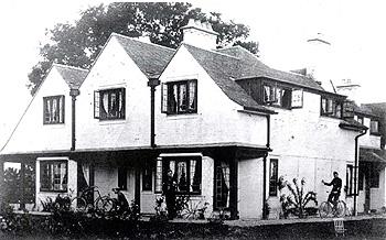 17 Biddenham Turn about 1901 from a Peacock family photograph