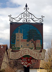 Biddenham sign March 2012