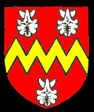 The coat of arms of the Dyve family