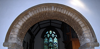 The chancel arch March 2012