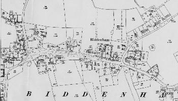 The main part of the village in 1926