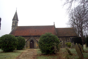 Billington church from the south December 2008