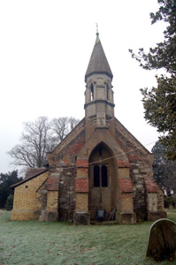 Billington church from the west December 2008