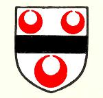 de Pateshull coat of arms