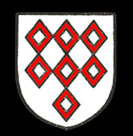 The Braybrooke family coat of arms