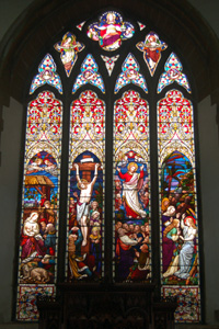 The east window August 2009
