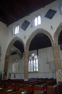 The south arcade and aisle August 2009