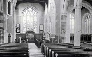 The church interior about 1900 [Z50/19/3]