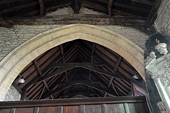 Chancel arch October 2016