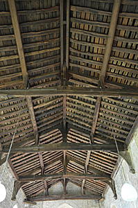 The nave roof October 2016