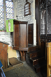 The pulpit October 2016