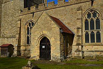 The south porch February 2016