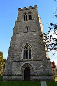 The west tower February 2016