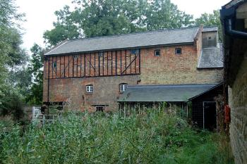 Bromham Mill from the rear - September 2007