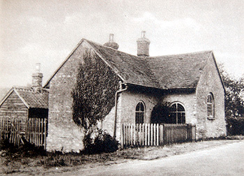 The Stagsden toll house in 1936