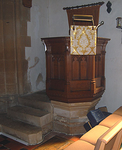 The pulpit May 2012