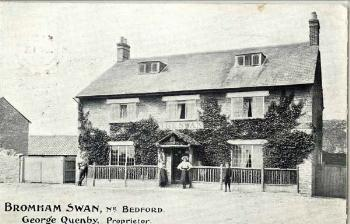 The Swan Public House about 1900