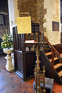 The pulpit April 2015