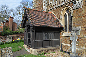 The south porch April 2015