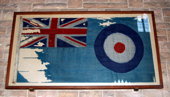 Flag from the R101 May 2010
