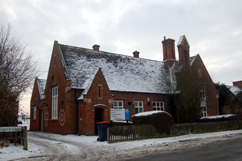 The former Cardington School Christmas Eve 2010