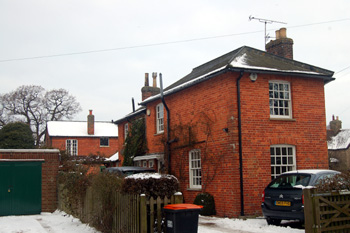 The former Exeter Arms Christmas Eve 2010