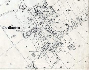The main part of the village in 1901