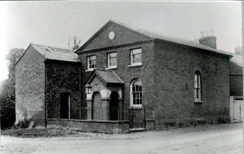 The Wesleyan chapel about 1900 [Z50/24/97]
