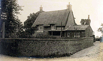 The Fox Public House about 1925