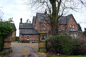 The Old Vicarage from Chalgrave Road February 2013
