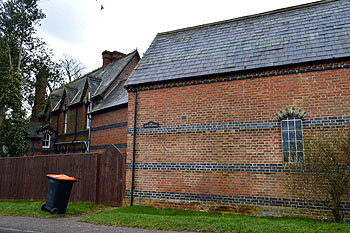 The Old Vicarage from Toddington Road February 2013