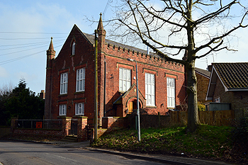 The former Methodist Chapel in Tebworth February 2013
