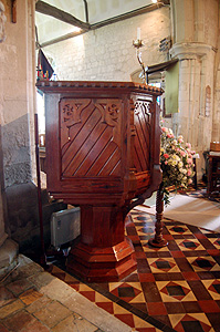 The pulpit June 2012