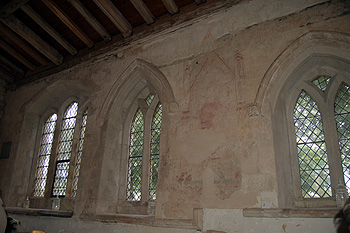 The south wall of the south aisle June 2012