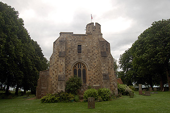 The tower from the west June 2012