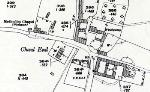 The Methodist chapel shown on a map of 1924