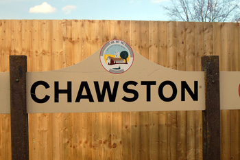 Chawston sign March 2010